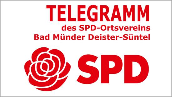 Bild für das Telegramm